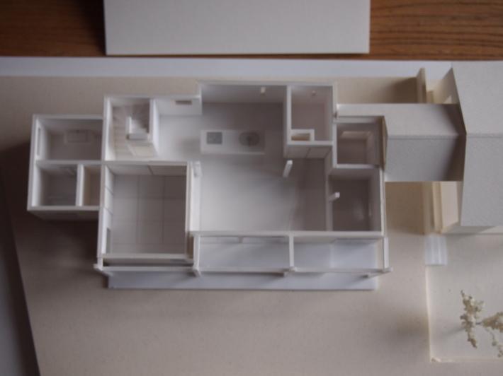 山梨の家☆ペットと暮らす家の模型完成!_c0152341_15391694.jpg