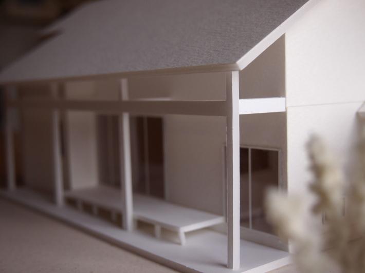 山梨の家☆ペットと暮らす家の模型完成!_c0152341_15395480.jpg