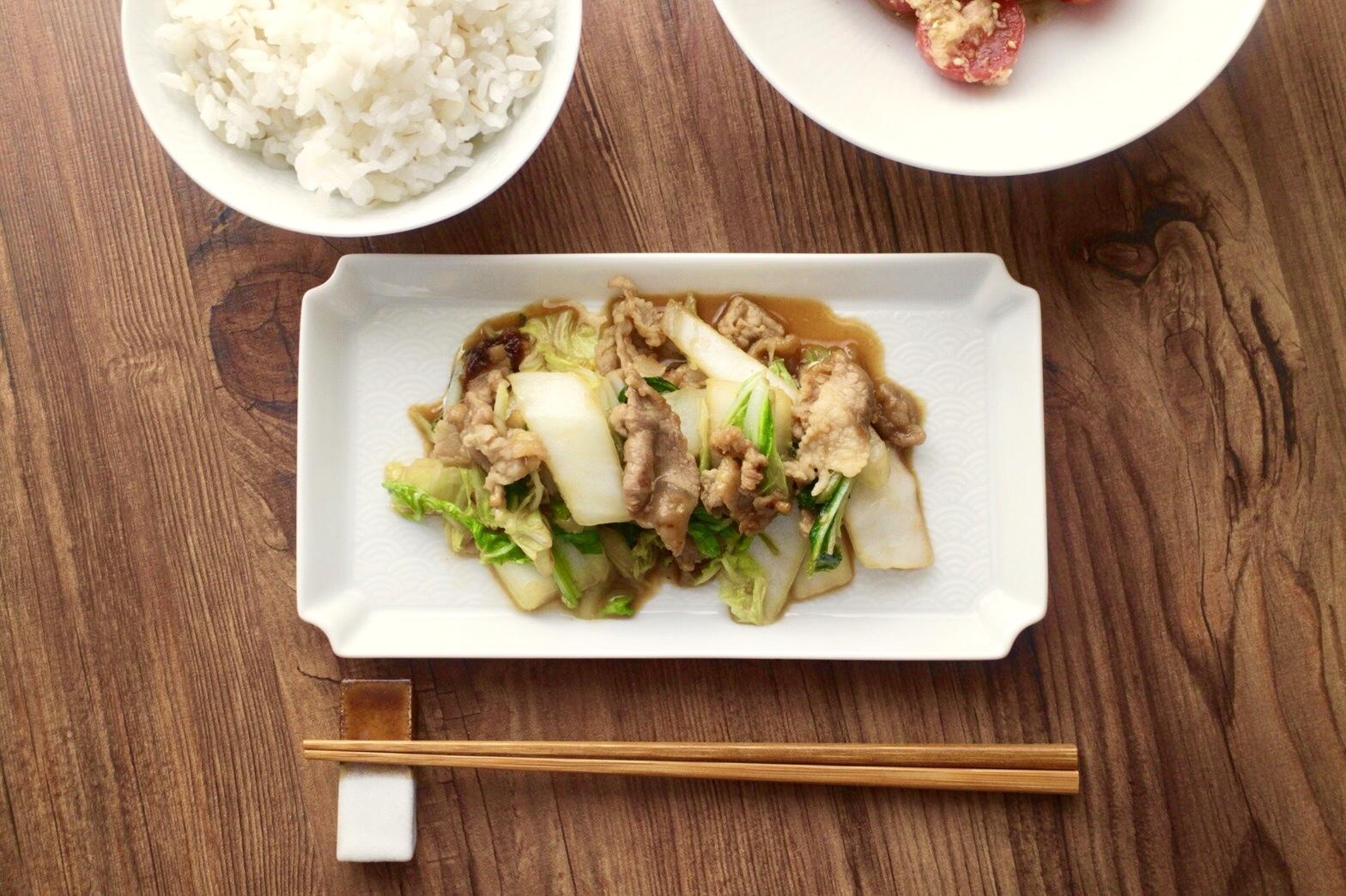 豚肉と白菜の味噌バター炒め_f0220354_11084333.jpeg