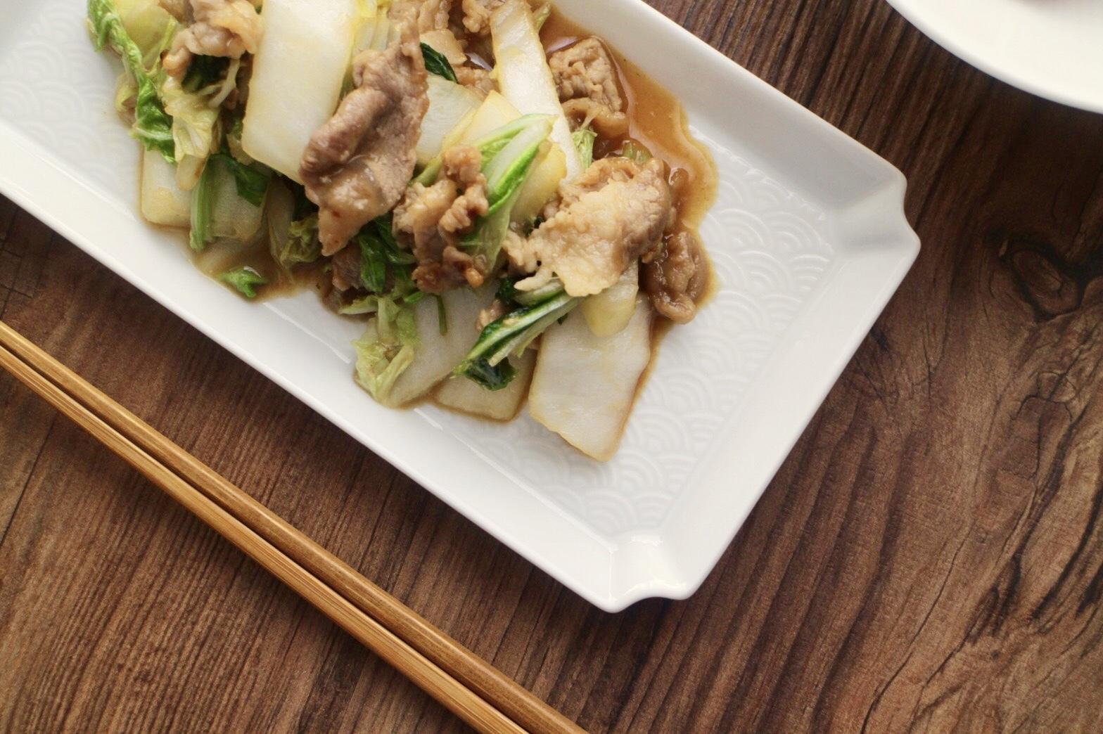 豚肉と白菜の味噌バター炒め_f0220354_11090111.jpeg