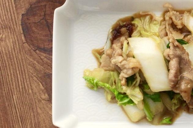 豚肉と白菜の味噌バター炒め_f0220354_11101048.jpeg