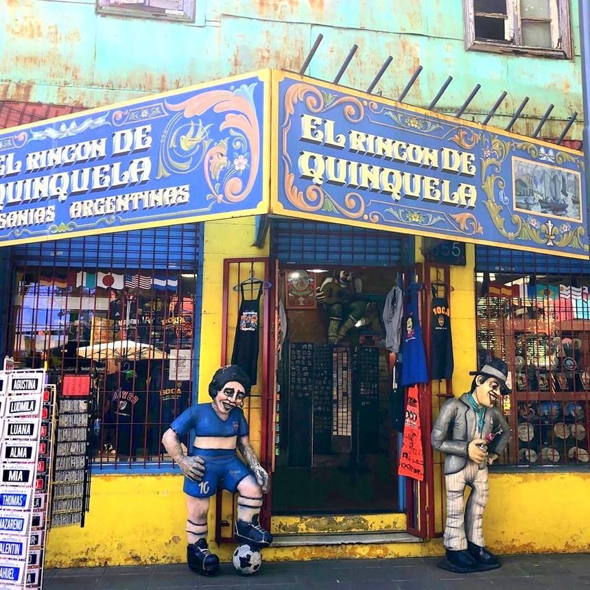 """中南米の旅/42 カラフル過ぎる街""""ボカ地区""""カミニート@ブエノスアイレス_a0092659_00583562.jpg"""