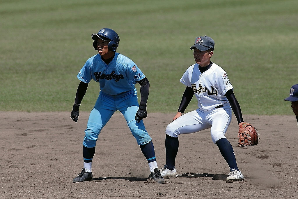 第33回綾部大会 vs滋賀野洲ボーイズ5_a0170082_2015794.jpg