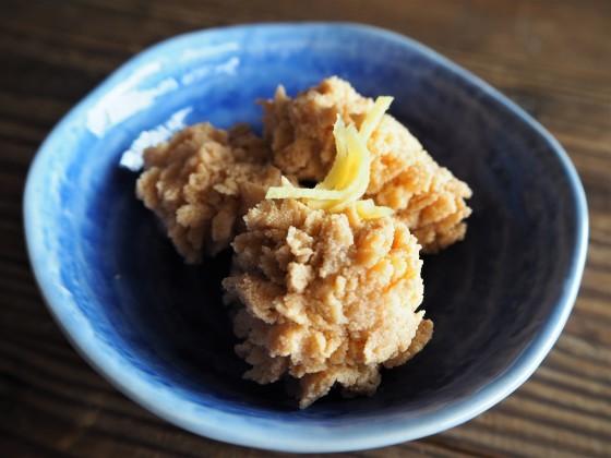 蕎麦と鯛の子_a0258686_06313164.jpg