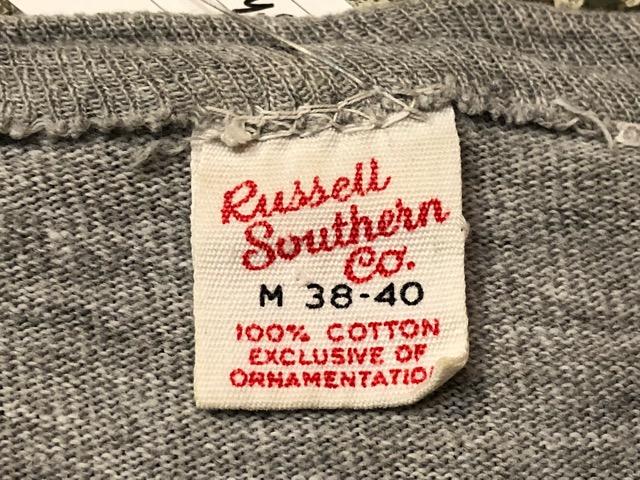 5月22日(水)マグネッツ大阪店ヴィンテージ入荷日!! #3 Russell編! 50\'s Southern & 60\'~70\'s Russell!!_c0078587_13255029.jpg