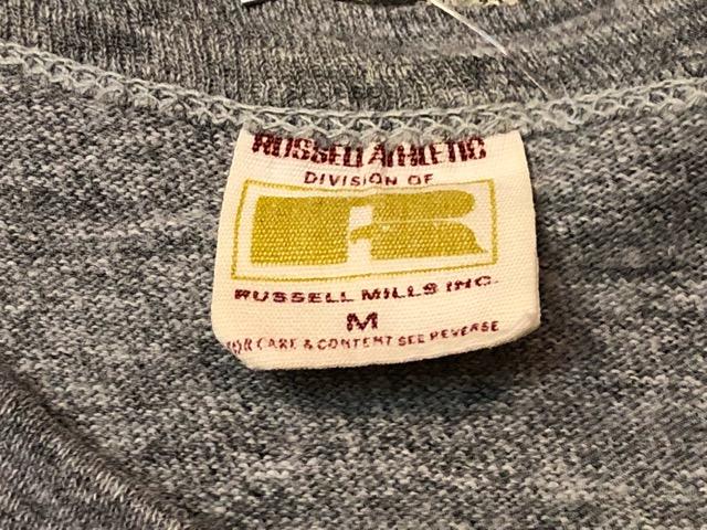 5月22日(水)マグネッツ大阪店ヴィンテージ入荷日!! #3 Russell編! 50\'s Southern & 60\'~70\'s Russell!!_c0078587_1326184.jpg