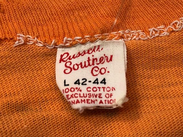 5月22日(水)マグネッツ大阪店ヴィンテージ入荷日!! #3 Russell編! 50\'s Southern & 60\'~70\'s Russell!!_c0078587_13282465.jpg