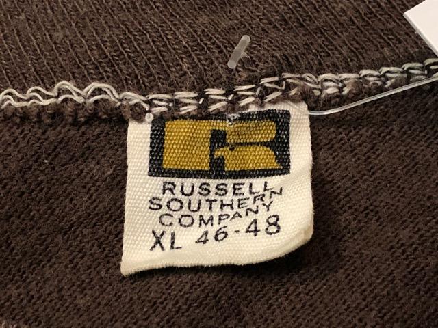 5月22日(水)マグネッツ大阪店ヴィンテージ入荷日!! #3 Russell編! 50\'s Southern & 60\'~70\'s Russell!!_c0078587_13305962.jpg