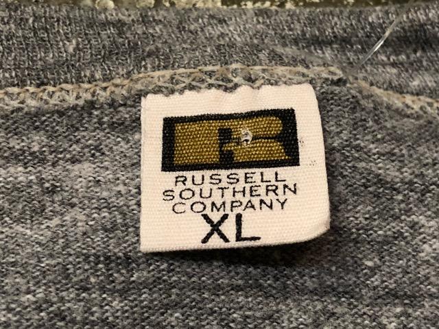 5月22日(水)マグネッツ大阪店ヴィンテージ入荷日!! #3 Russell編! 50\'s Southern & 60\'~70\'s Russell!!_c0078587_13314446.jpg