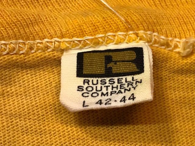 5月22日(水)マグネッツ大阪店ヴィンテージ入荷日!! #3 Russell編! 50\'s Southern & 60\'~70\'s Russell!!_c0078587_13324866.jpg