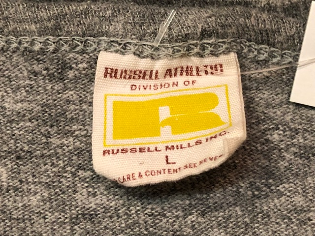 5月22日(水)マグネッツ大阪店ヴィンテージ入荷日!! #3 Russell編! 50\'s Southern & 60\'~70\'s Russell!!_c0078587_13351171.jpg