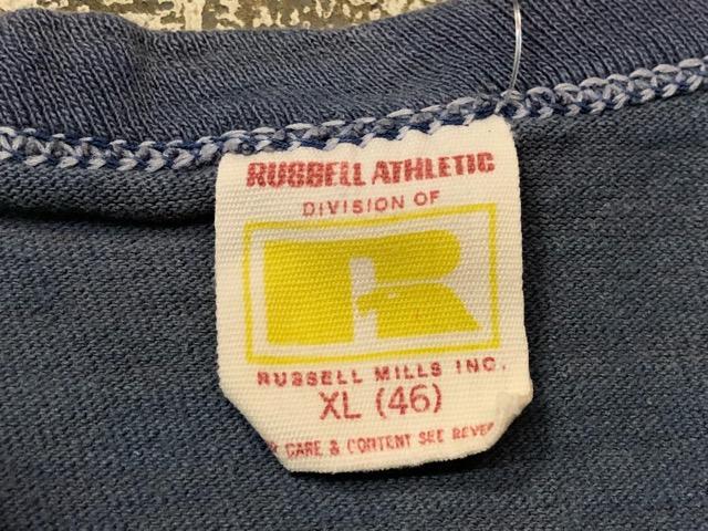 5月22日(水)マグネッツ大阪店ヴィンテージ入荷日!! #3 Russell編! 50\'s Southern & 60\'~70\'s Russell!!_c0078587_13372628.jpg