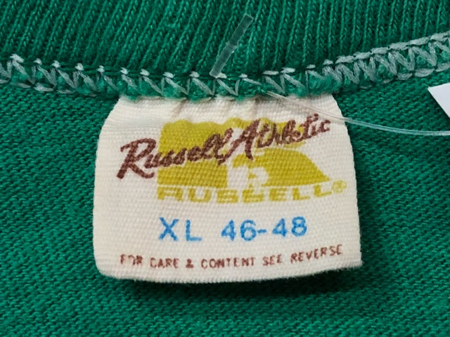 5月22日(水)マグネッツ大阪店ヴィンテージ入荷日!! #3 Russell編! 50\'s Southern & 60\'~70\'s Russell!!_c0078587_13391221.jpg