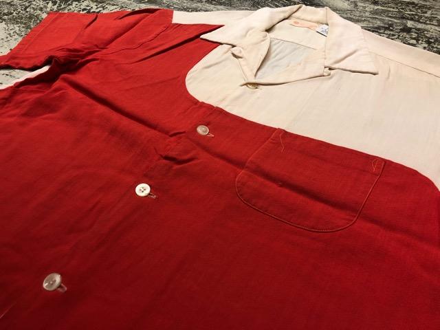 5月22日(水)マグネッツ大阪店ヴィンテージ入荷日!! #4 VintageShirt編! 50\'s Mobile Print & 50\'s GENERAL ELECTRIC!!_c0078587_141231.jpg