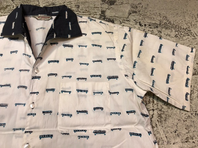 5月22日(水)マグネッツ大阪店ヴィンテージ入荷日!! #4 VintageShirt編! 50\'s Mobile Print & 50\'s GENERAL ELECTRIC!!_c0078587_1413568.jpg