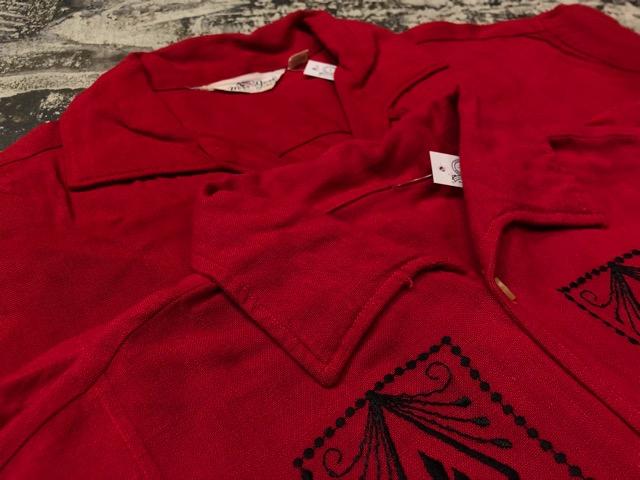 5月22日(水)マグネッツ大阪店ヴィンテージ入荷日!! #4 VintageShirt編! 50\'s Mobile Print & 50\'s GENERAL ELECTRIC!!_c0078587_14154241.jpg