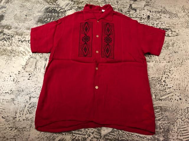 5月22日(水)マグネッツ大阪店ヴィンテージ入荷日!! #4 VintageShirt編! 50\'s Mobile Print & 50\'s GENERAL ELECTRIC!!_c0078587_1415572.jpg
