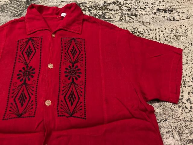 5月22日(水)マグネッツ大阪店ヴィンテージ入荷日!! #4 VintageShirt編! 50\'s Mobile Print & 50\'s GENERAL ELECTRIC!!_c0078587_14161146.jpg