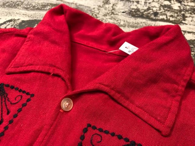 5月22日(水)マグネッツ大阪店ヴィンテージ入荷日!! #4 VintageShirt編! 50\'s Mobile Print & 50\'s GENERAL ELECTRIC!!_c0078587_14161949.jpg