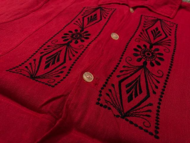 5月22日(水)マグネッツ大阪店ヴィンテージ入荷日!! #4 VintageShirt編! 50\'s Mobile Print & 50\'s GENERAL ELECTRIC!!_c0078587_14164721.jpg