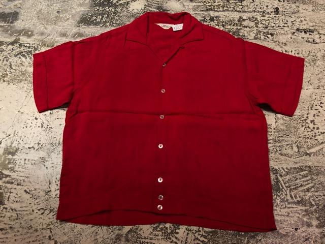 5月22日(水)マグネッツ大阪店ヴィンテージ入荷日!! #4 VintageShirt編! 50\'s Mobile Print & 50\'s GENERAL ELECTRIC!!_c0078587_1417108.jpg