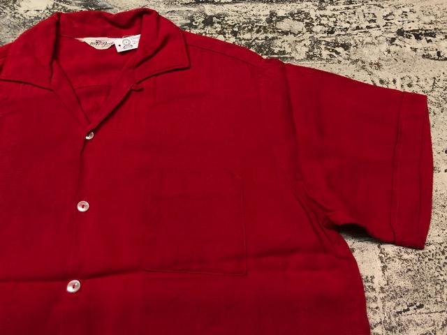 5月22日(水)マグネッツ大阪店ヴィンテージ入荷日!! #4 VintageShirt編! 50\'s Mobile Print & 50\'s GENERAL ELECTRIC!!_c0078587_14174281.jpg