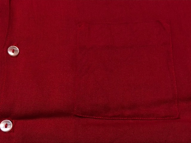 5月22日(水)マグネッツ大阪店ヴィンテージ入荷日!! #4 VintageShirt編! 50\'s Mobile Print & 50\'s GENERAL ELECTRIC!!_c0078587_1418537.jpg