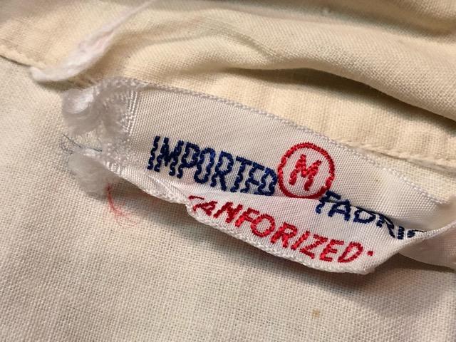5月22日(水)マグネッツ大阪店ヴィンテージ入荷日!! #4 VintageShirt編! 50\'s Mobile Print & 50\'s GENERAL ELECTRIC!!_c0078587_14234127.jpg