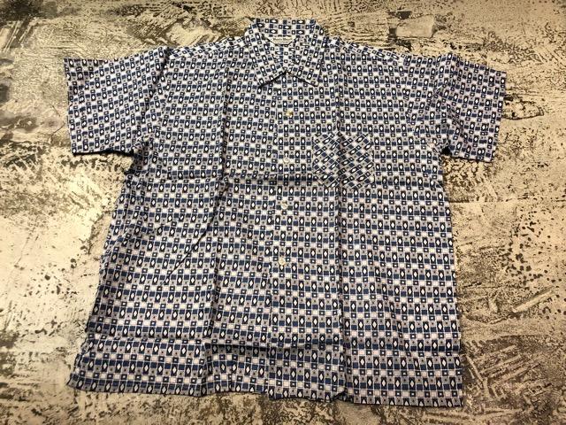 5月22日(水)マグネッツ大阪店ヴィンテージ入荷日!! #4 VintageShirt編! 50\'s Mobile Print & 50\'s GENERAL ELECTRIC!!_c0078587_14401277.jpg