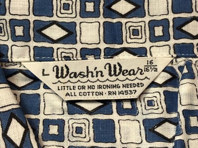 5月22日(水)マグネッツ大阪店ヴィンテージ入荷日!! #4 VintageShirt編! 50\'s Mobile Print & 50\'s GENERAL ELECTRIC!!_c0078587_14402056.jpg