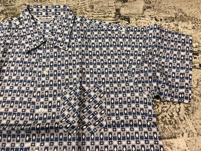 5月22日(水)マグネッツ大阪店ヴィンテージ入荷日!! #4 VintageShirt編! 50\'s Mobile Print & 50\'s GENERAL ELECTRIC!!_c0078587_14403086.jpg