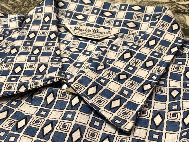 5月22日(水)マグネッツ大阪店ヴィンテージ入荷日!! #4 VintageShirt編! 50\'s Mobile Print & 50\'s GENERAL ELECTRIC!!_c0078587_14403952.jpg