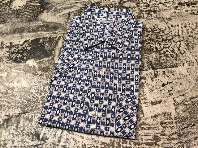 5月22日(水)マグネッツ大阪店ヴィンテージ入荷日!! #4 VintageShirt編! 50\'s Mobile Print & 50\'s GENERAL ELECTRIC!!_c0078587_1440458.jpg