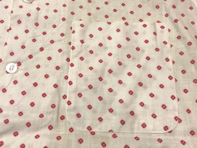 5月22日(水)マグネッツ大阪店ヴィンテージ入荷日!! #4 VintageShirt編! 50\'s Mobile Print & 50\'s GENERAL ELECTRIC!!_c0078587_14422092.jpg