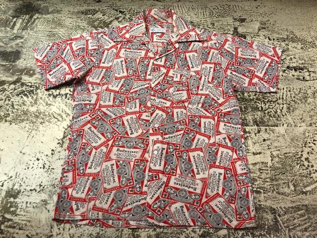 5月22日(水)マグネッツ大阪店ヴィンテージ入荷日!! #4 VintageShirt編! 50\'s Mobile Print & 50\'s GENERAL ELECTRIC!!_c0078587_14423989.jpg