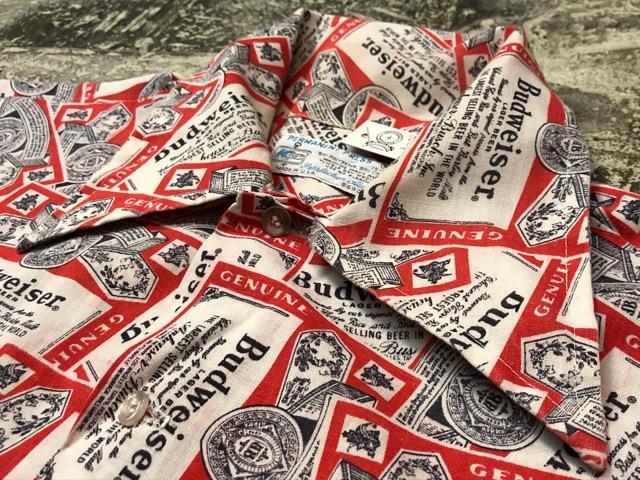 5月22日(水)マグネッツ大阪店ヴィンテージ入荷日!! #4 VintageShirt編! 50\'s Mobile Print & 50\'s GENERAL ELECTRIC!!_c0078587_14431160.jpg