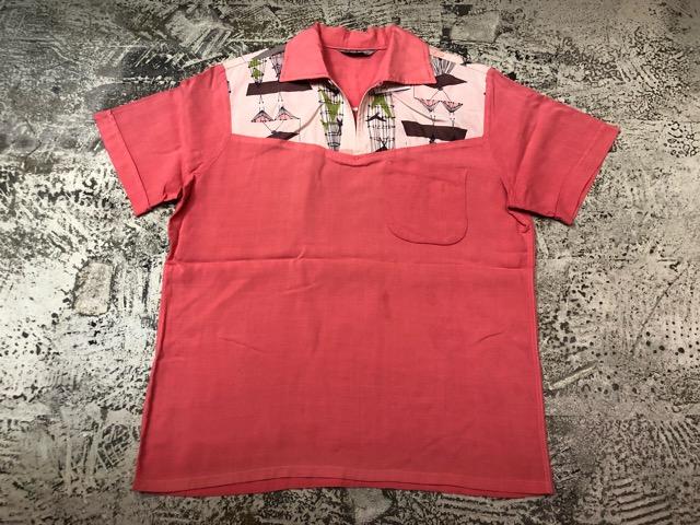 5月22日(水)マグネッツ大阪店ヴィンテージ入荷日!! #4 VintageShirt編! 50\'s Mobile Print & 50\'s GENERAL ELECTRIC!!_c0078587_1452147.jpg