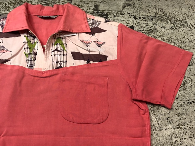 5月22日(水)マグネッツ大阪店ヴィンテージ入荷日!! #4 VintageShirt編! 50\'s Mobile Print & 50\'s GENERAL ELECTRIC!!_c0078587_146082.jpg