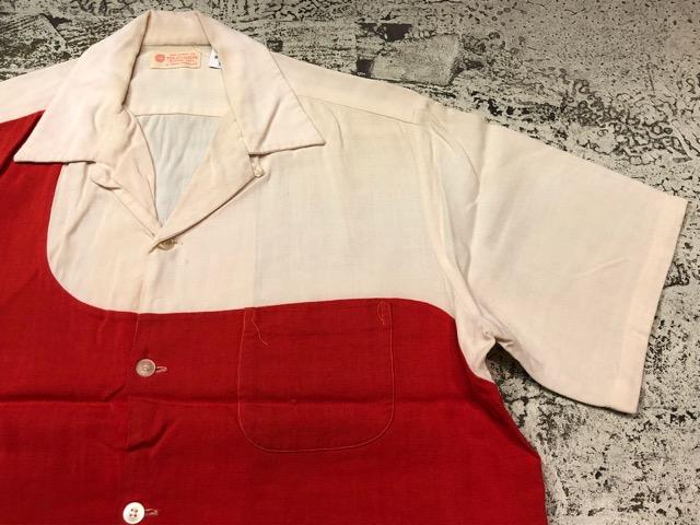 5月22日(水)マグネッツ大阪店ヴィンテージ入荷日!! #4 VintageShirt編! 50\'s Mobile Print & 50\'s GENERAL ELECTRIC!!_c0078587_149454.jpg