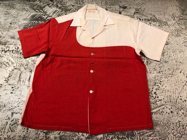 5月22日(水)マグネッツ大阪店ヴィンテージ入荷日!! #4 VintageShirt編! 50\'s Mobile Print & 50\'s GENERAL ELECTRIC!!_c0078587_149468.jpg