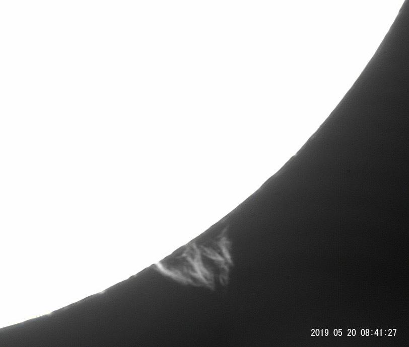 5月20日の太陽_e0174091_10130584.jpg