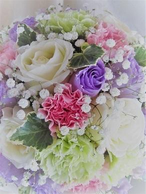 紫トルコキキョウ『シエルラベンダー』_f0054809_09504095.jpg