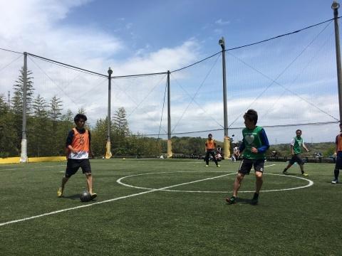 ゆるUNO 5/19(日) at UNOフットボールファーム_a0059812_14564485.jpg