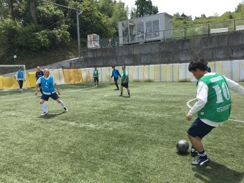 ゆるUNO 5/19(日) at UNOフットボールファーム_a0059812_14565278.jpg