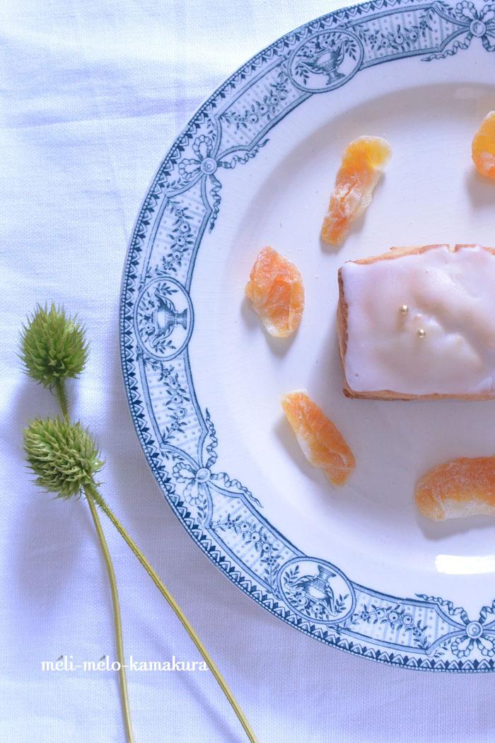◆フランスアンティーク*可愛いプレートと可愛いスコーンのおやつタイム♡_f0251032_15312319.jpg