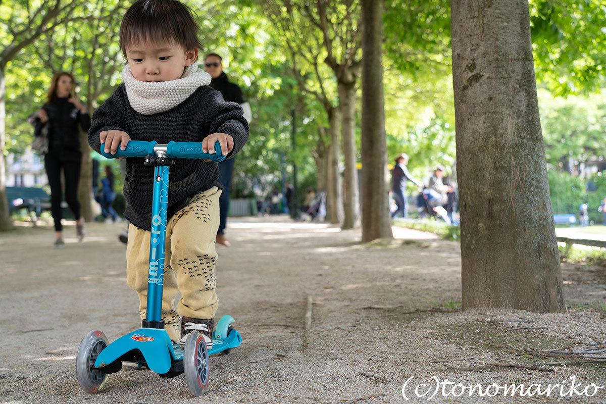 毎日のお散歩道。パリのあちこちにある公園たち_c0024345_18061637.jpg