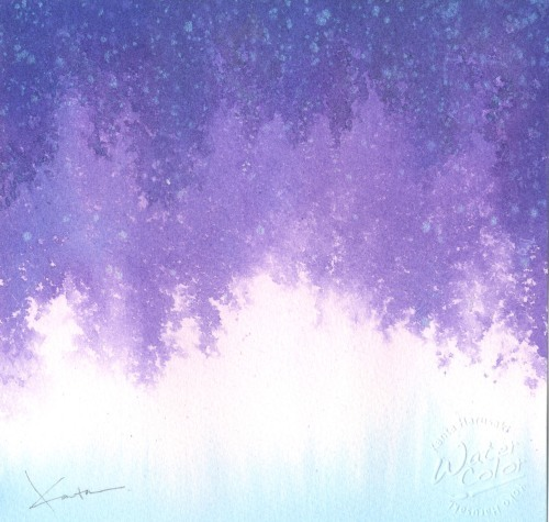 小作品 水彩画_f0176370_11543019.jpg