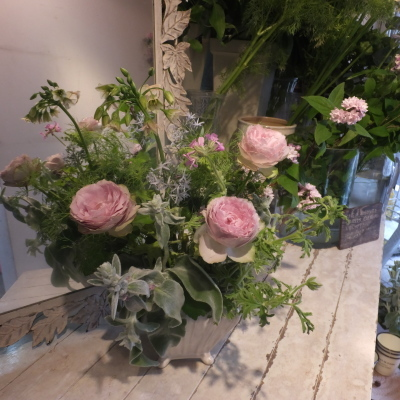 オークリーフ花の教室(山田さんの作品)_f0049672_17335875.jpg