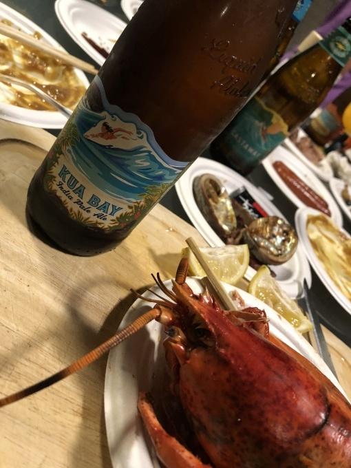 2019お正月ハワイ島!~アワビにロブスターで贅沢BBQ~_f0011498_12061642.jpg