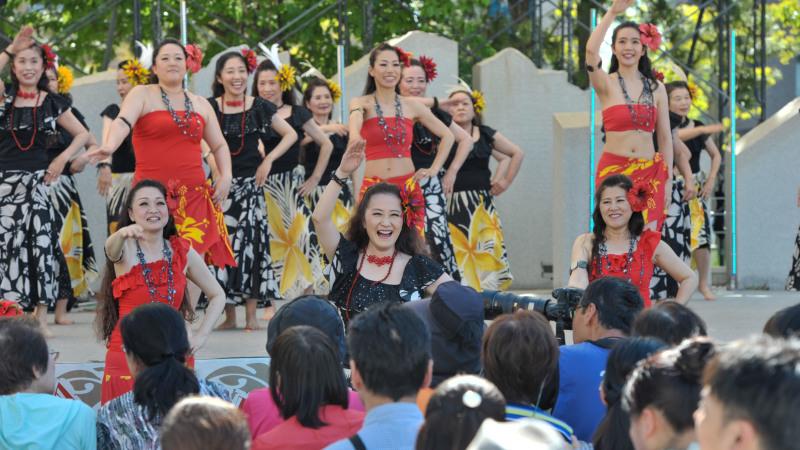 アロハフェスティバル in TAKAMATSU メインステージ ⑦_d0246136_00505629.jpg
